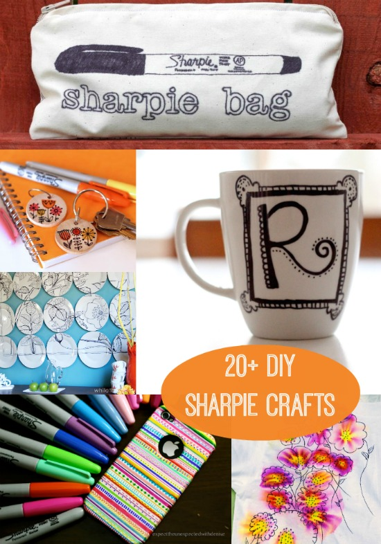 20 fun Sharpie Crafts - the Ultimate List!
