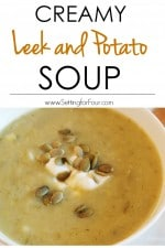 Homemade Leek and Potato Soup Recipe