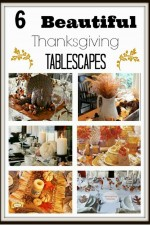 Who Wants Some Thanksgiving Tablescape Ideas?