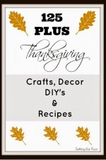 Traditions Thanksgiving Linky Party – Tablescapes and Maple Syrup Acorn Squash Recipe