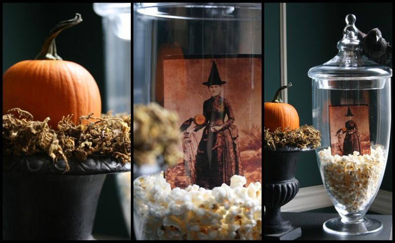 9 Apothecary Jar Fillers Fall Amp Halloween Ideas Setting For Four