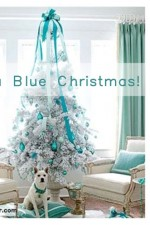 Blue Christmas Color Scheme with Chip It