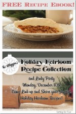 Free Recipe Ebook! Blogger's Holiday Heirloom Recipe Collection