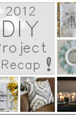 Best of 2012 – DIY project recap and review