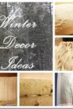 Winter Décor Ideas – Five Tips