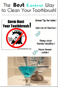 The Best, Easiest Way to Clean Your Toothbrush – Cleaning Tip