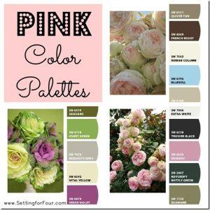 Color Palette – Pink