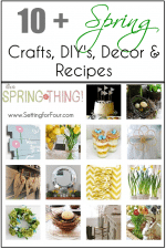 It's a Spring Thing Blog Hop Recap // 10 plus Spring Crafts, DIY's, Decor & Recipes