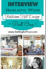 Designer Interview {Part One} ~ Darlene Weir ~ Fieldstone Hill Design