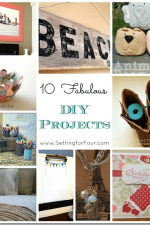 10 Fabulous DIY Projects – Creative Projects from Project Inspire{d} Linky Party