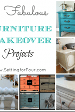 5 Fabulous Furniture Makeover Projects – Features from Project Inspire{d} Linky Party