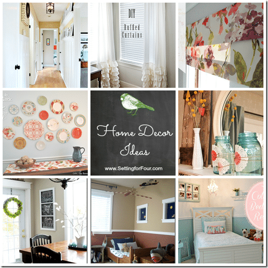 Project inspired no 7 linky party features beautiful for Beautiful house decoration