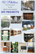 12 Fabulous Vintage and Repurposed DIY Projects // Features from Project Inspired No. 15