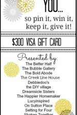 Mothers Day Giveaway // Pin it, Win it, Keep it, Give it!