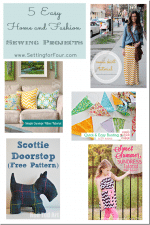 5 Sewing projects // Features from Project Inspire{d} No. 14