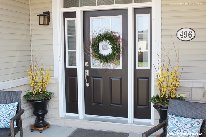 Decorating Tips To Add Curb Appeal To Your Front Entryway Or Porch.