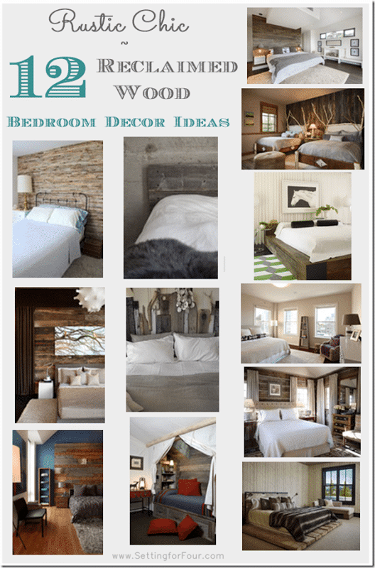 12 reclaimed wood bedroom decor ideas what a fabulous way to add the texture and