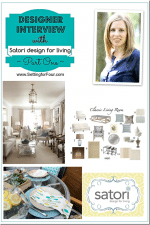 Interview with a Designer {Satori Design for Living}, Part One