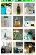 Repurposed Bottle and Jars // Beautiful Home Decor Ideas