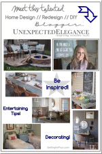 Home Design and DIY Blogger // Guest post Angela Lerew from Unexpected Elegance