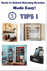 Back to School Morning Routine Made Easy – 5 Tips