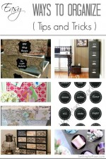 Easy Ways to Organize // Tips and Tricks!