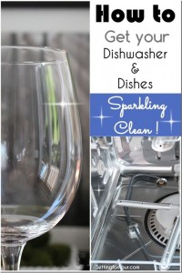 How to get your dishwasher and dishes sparkling clean!