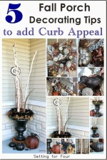 Five Fall Porch Decorating Tips to Add Curb Appeal