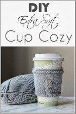 DIY Extra Soft Knitted Cup Cozy – Great Gift Idea!