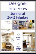 Designer Interview {Jenna from SAS Interiors}~ Part One
