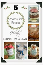 Five Mason Jar Recipes // Holiday Gifts in a Jar