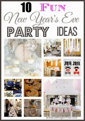 10 fun new year s eve party ideas setting for four for Fun new years eve party ideas