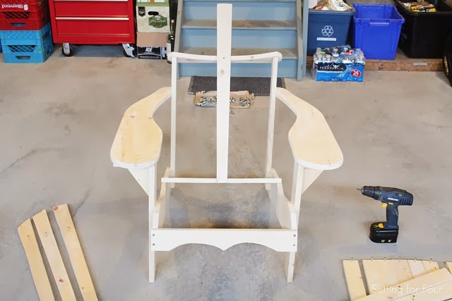 Make an Adirondack Chair: Assembling Adirondack Chair Pieces