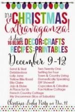 A Christmas Eztravaganza Blog Hop – Crafts, Printables, Decor and Recipe Ideas