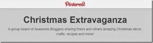Christmas Exravaganza Pinterest Board