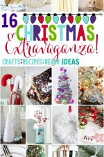 Decorate you home, create some fun holiday crafts and and check off Christmas baking to-do list with these 16 Amazing Christmas DIY, Decor, Crafts and Recipe Ideas!