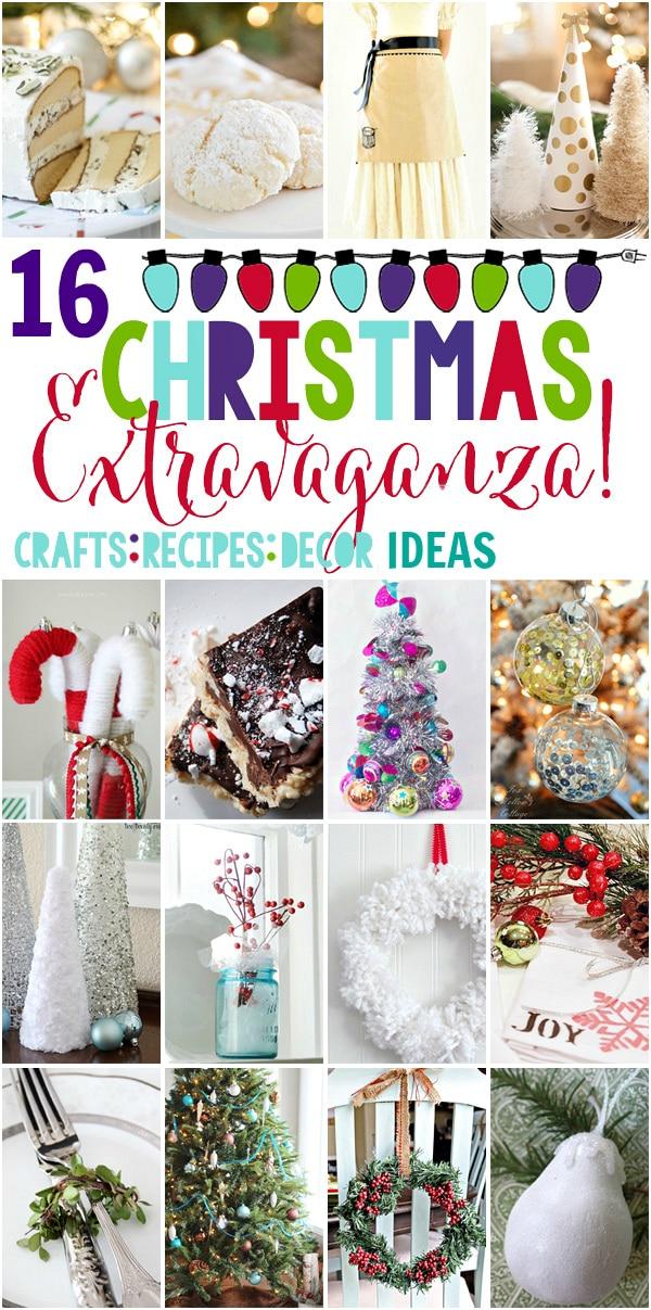 16 Amazing Christmas Decor Crafts Recipe Ideas Setting For Four