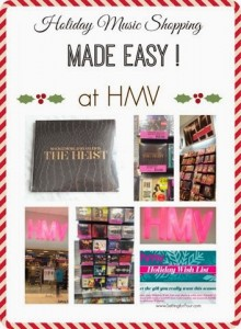 Holiday Music Shopping Made Easy at HMV #HMVHoliday #shop