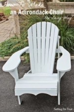 How to Make an Adirondack Chair – The Easy Way!