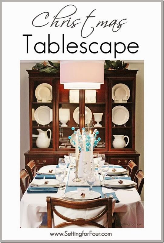 Christmas tablescape decor ideas setting for four for Decor 67 instagram