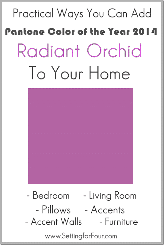 Introducing Radiant Orchid Pantone Color of the Year , purple color from pantone. Graphics - Radiant Orchid - Pantone Color of the Year Color trends, color palettes, Pantone TCX.