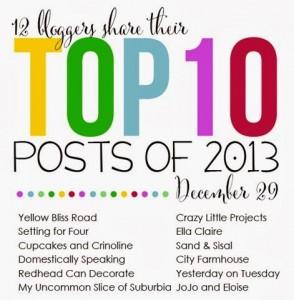 top ten posts blog hop