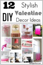 12 Stylish DIY Decor Ideas for Valentine's Day // Make it Yourself!