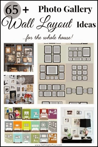 65 Plus photo gallery wall layout ideas!