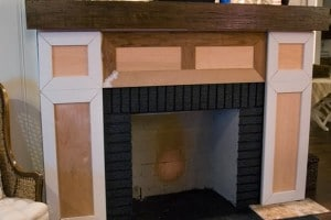 Add molding to a Fireplace