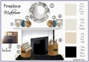 Reader Redesign // Fireplace Makeover Design Advice