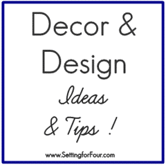 Best Decor and Design Ideas and Tips from Setting for Four