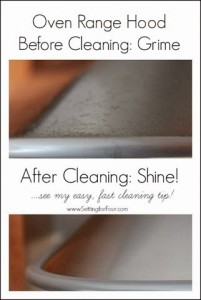 Easy Way to Clean an Oven Range Hood – from Grime to Shine!