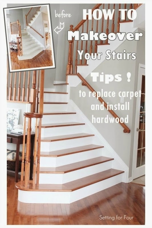 How To Makeover Your Stairs Find A Good Pro Tips To Replace