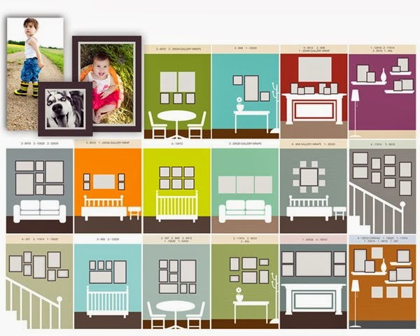 plus photo gallery wall layout ideas page 3 of 4 setting for four